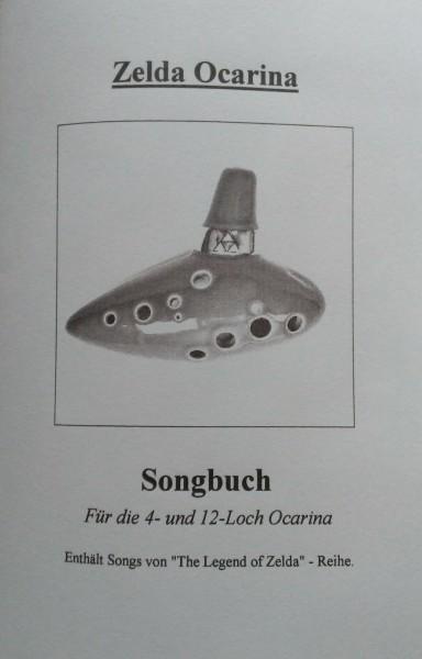 Zelda Ocarina Notenbuch