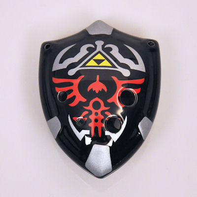 Dark Shield Ocarina für Zelda Fans